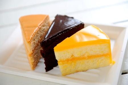 Varieties of cakes  photo