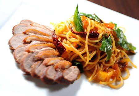 spaghetti Stock Photo - 9872345