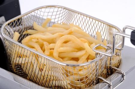 americana: french fries Stock Photo