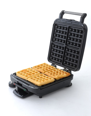 maker: Waffle maker machine easy to do at home
