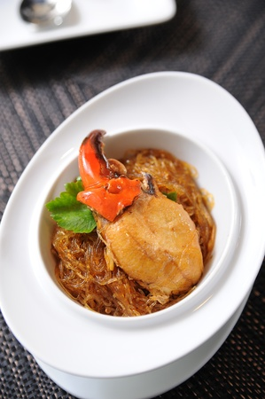 crab and vermicelli Stock Photo - 10047066