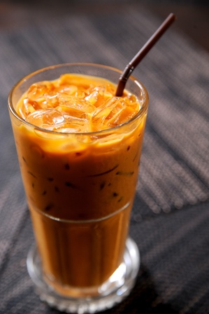 cream tea: Thai Ice Tea