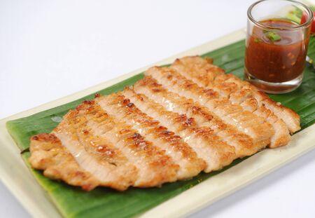 Thai Food Grilled Beef Steak photo