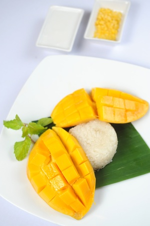 Mango rice photo