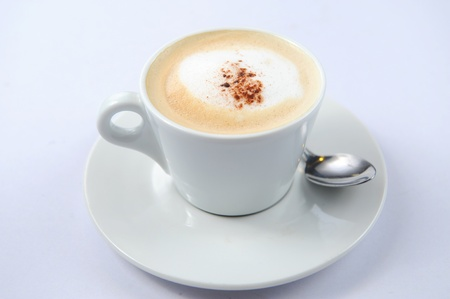 Close-up of a delicious cup of coffee or hot chocolate Stock Photo - 10047046