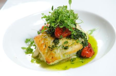 fish and chips: Filete de pescado