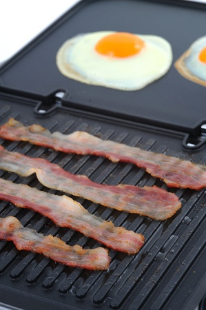Fried food - breakfast Stock Photo - 10047131