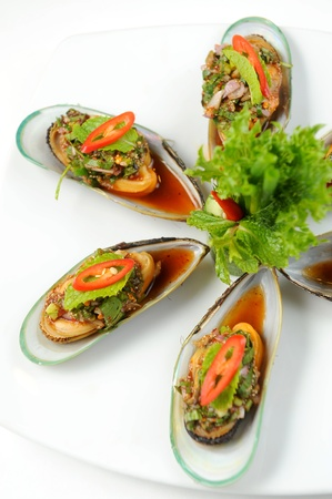 Bowl of Delicious Fresh appetizer photo