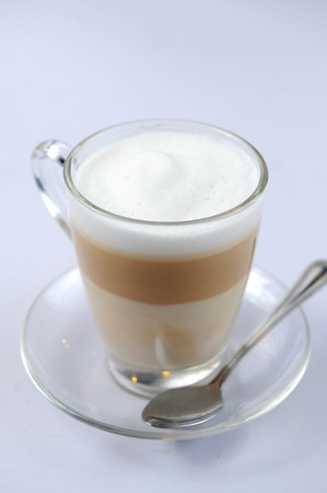 Hot chocolate in a tall class Stock Photo - 10047116