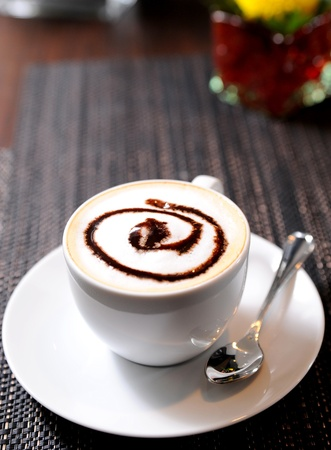 delicious cup of coffee Stock Photo - 10306143