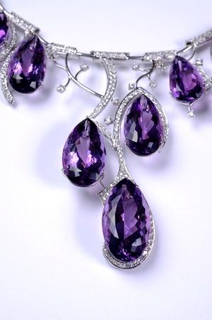 dazzlingly: Close-up blue diamond Stock Photo