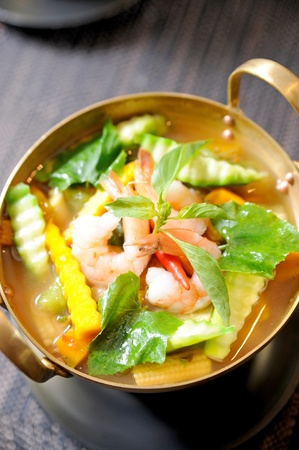 A bowl of seafood curry Stock Photo - 10344949