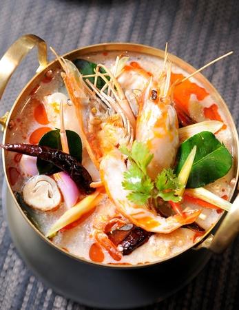 Thai Dishes - Tom Yam Kung photo