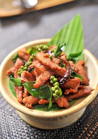 Fried pork photo