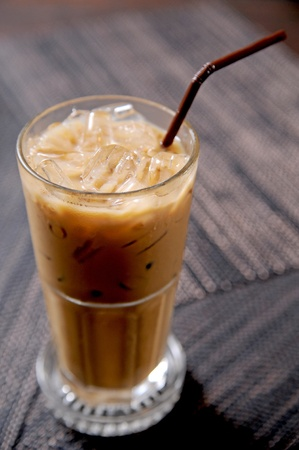 frappe: cold fresh ice coffee