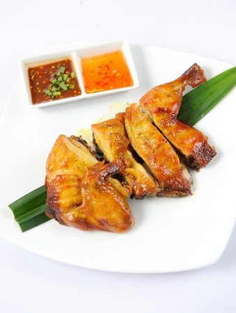 Thai grilled chicken Stock Photo - 10344908
