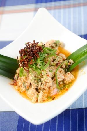 thai pepper: Pork Salad