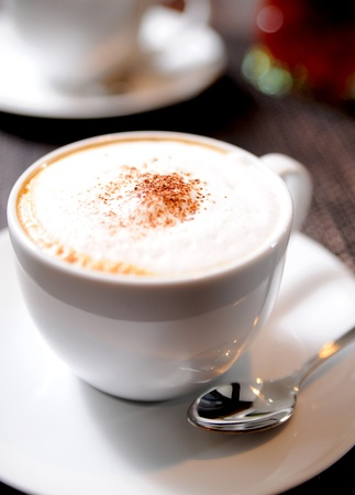 Cup of cappuccino Stock Photo - 10425937