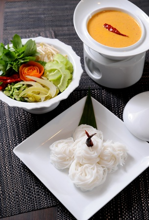 southern thailand: thai style noodle