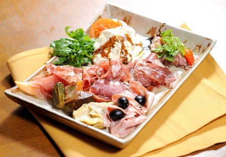 Delicious Appetizer Plate photo