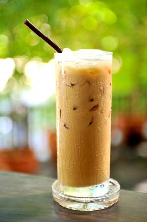 capuchinos: Café refrescante Foto de archivo