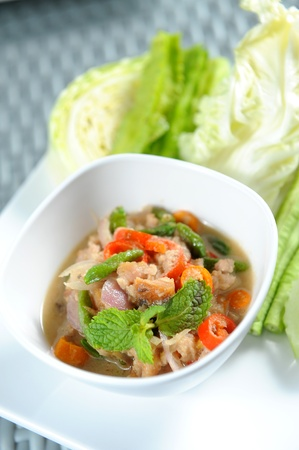 morning glory: thai food chili paste