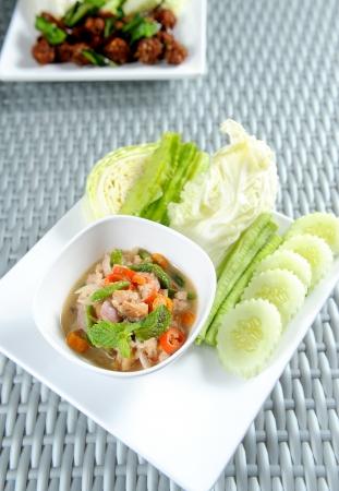 Nam Prik thai food Stock Photo - 10507152