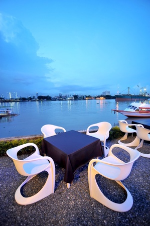 Restaurant table photo