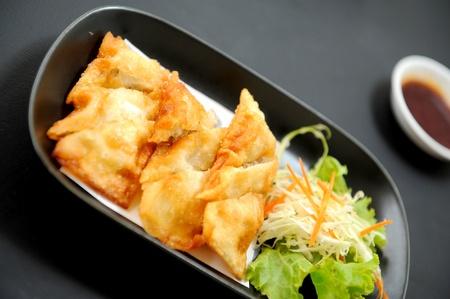 gyoza: Gyoza Japanese food
