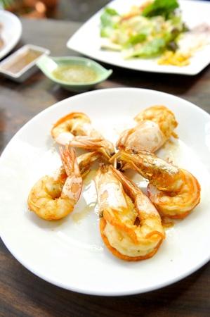 Fried prawn photo