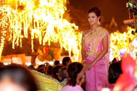contestant: Female Thai beauty contestant