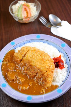 beef curry: curry with rice Japanese style