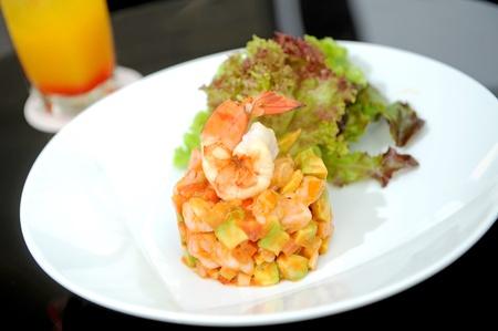 seasoned: Prawn salad