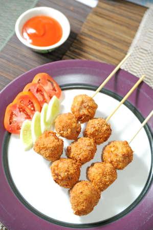 Tasty meat balls photo