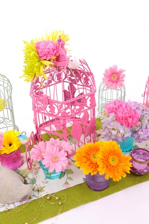 flower and cage Stock Photo - 10963157