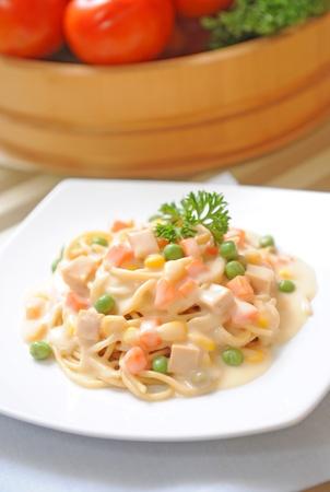 Spaghetti carbonara Stock Photo - 11281695
