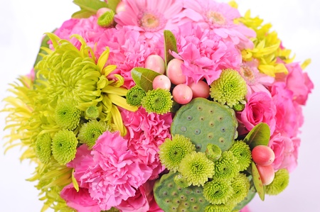 Beautiful bouquet of flowers Stock Photo - 11281768