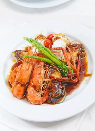 sea food dish photo