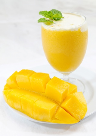 licuado de platano: Batido de Mango