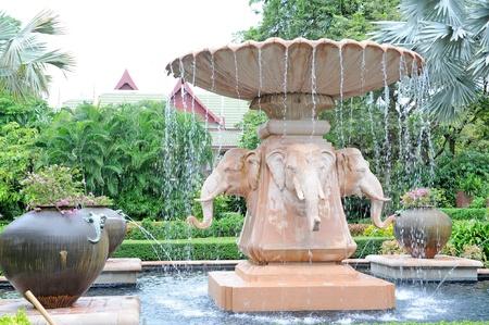 garden fountain: Elephant Statue