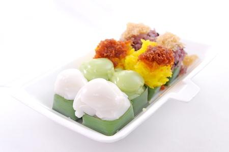 powdery: Traditional Thai dessert