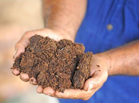 punhado: Handful of soil