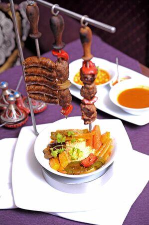 kabob: kabab meat food