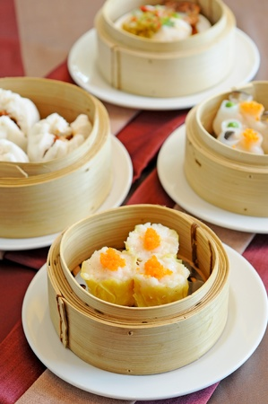 asia breakfast - dim sum photo