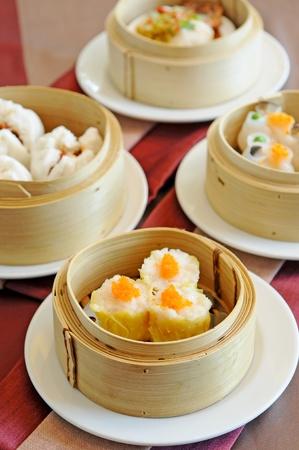 asia ontbijt - dim sum Stockfoto