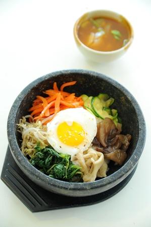 comida rica: Alimento coreano Foto de archivo
