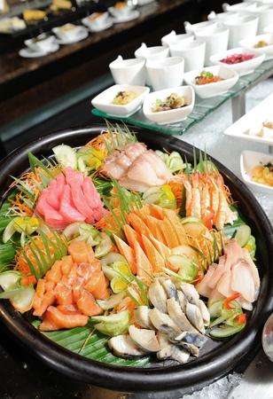 japanese sake: sashimi