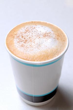 Close Up Of Hot coffee Foto de archivo