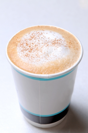 Close Up Of Hot coffee photo