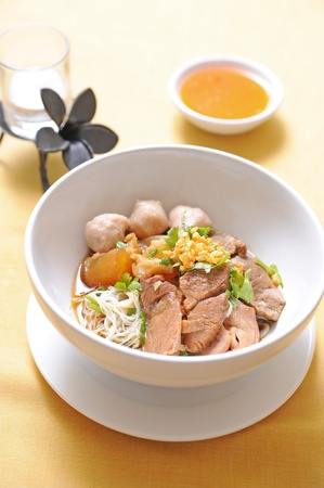 Beef Stew Noodle Soup photo